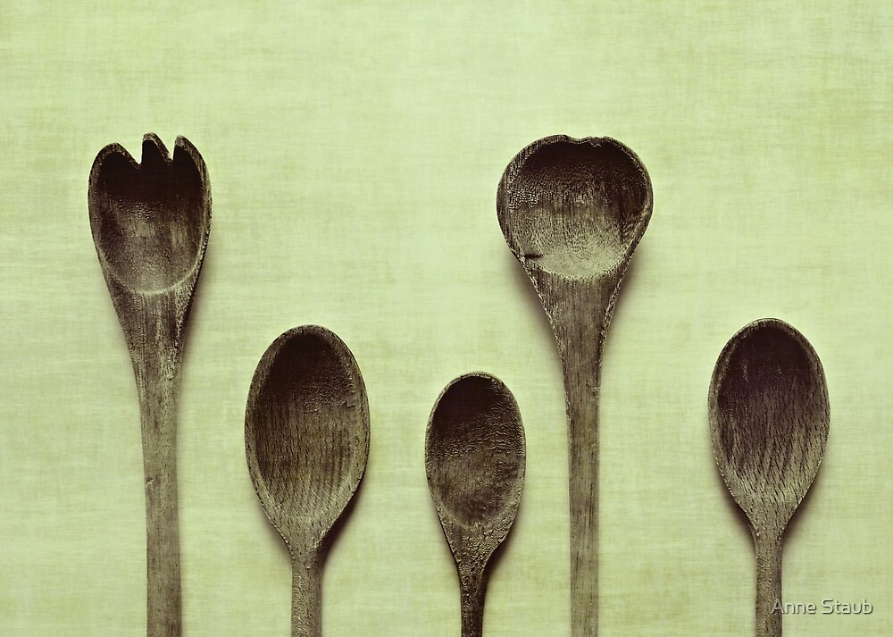 Spoons by Anne Staub