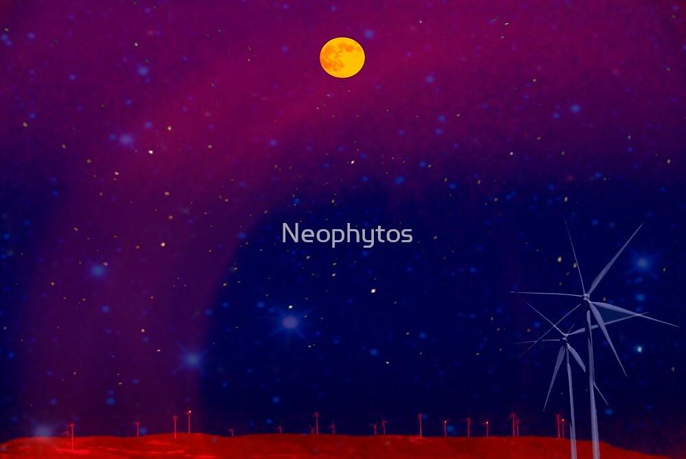 Wind  Messengers    Series - 3 - by Neophytos