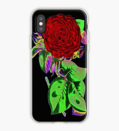 Neon Flower © iPhone Case