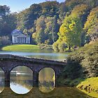 Stourhead Autumn by Steve Bishop