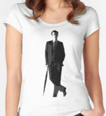 Mycroft Holmes, British Government Women's Fitted Scoop T-Shirt
