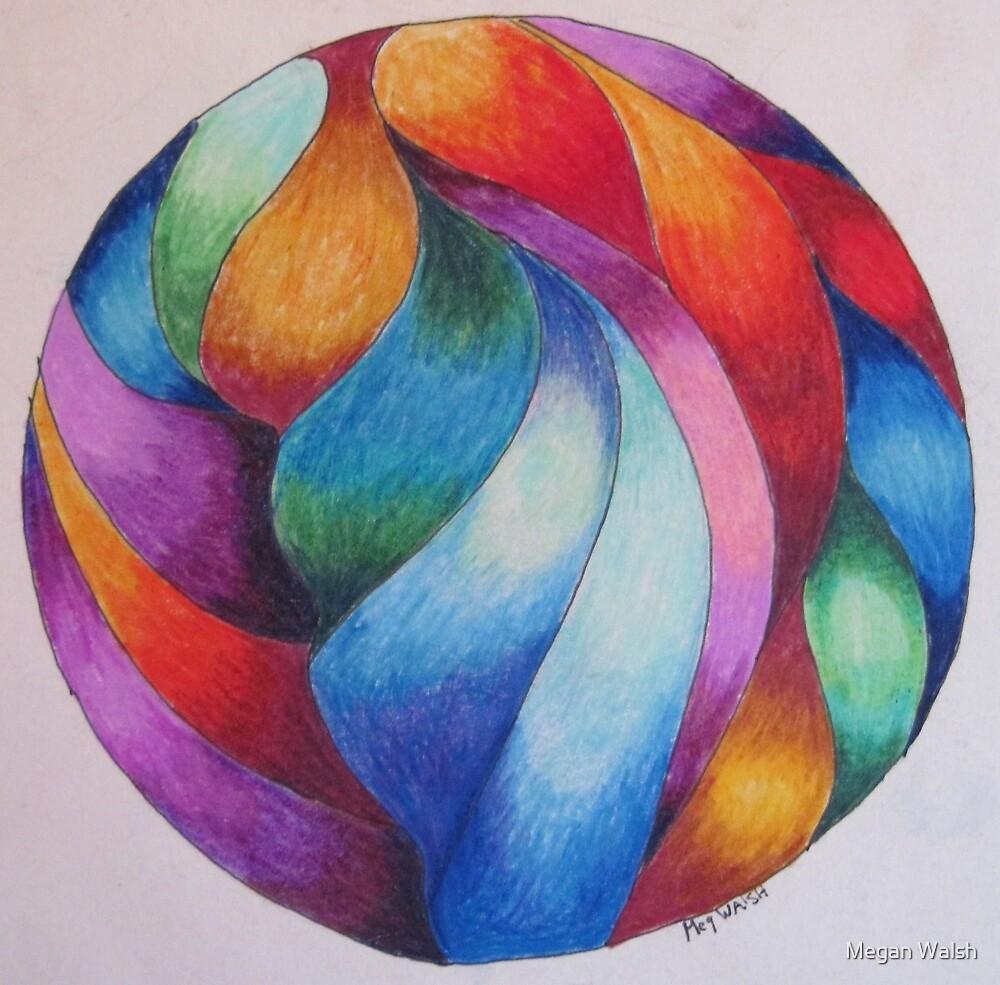 Gazing ball 2 by Megan Walsh