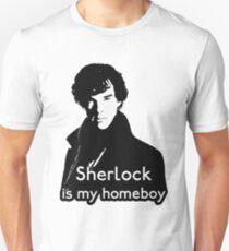 Sherlock is My Homeboy T-Shirt