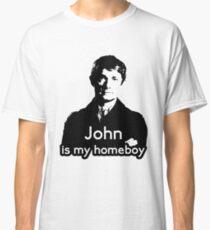 John is My Homeboy Classic T-Shirt