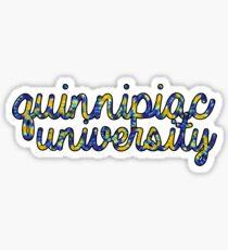 Quinnipiac University Sticker