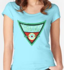 Green Arrow Logo Women's Fitted Scoop T-Shirt
