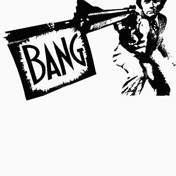 "Dirty Harry ""BANG!"" Street Art by dashiner"