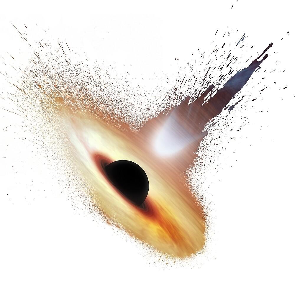 Splash Black Hole by NightArk