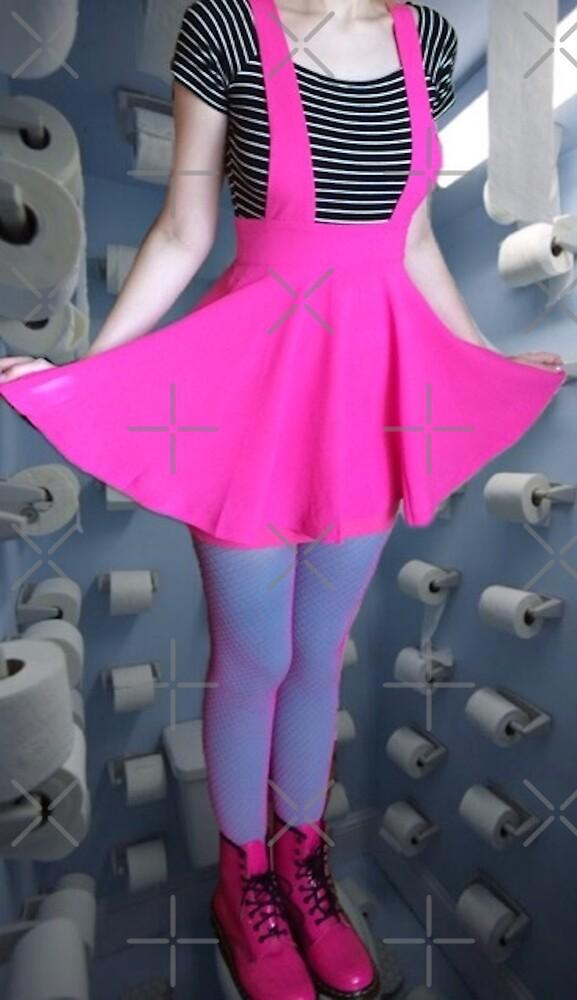 Toilet fashion by cutelikeapeach