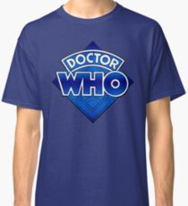 Doctor Who - Diamond Logo Blue gradient. Classic T-Shirt