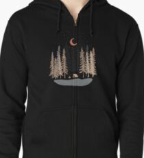 Feeling Small... Zipped Hoodie