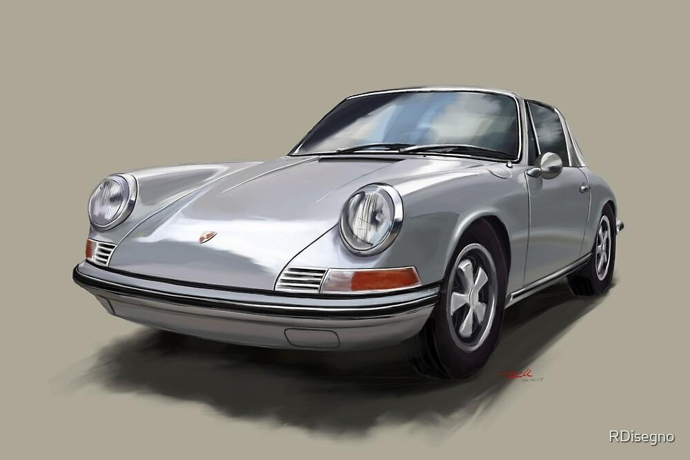 Porsche 911 Targa by RDisegno
