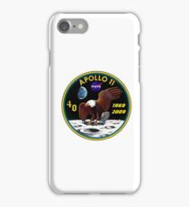 Apollo 11: 40th Anniversary Patch iPhone Case/Skin