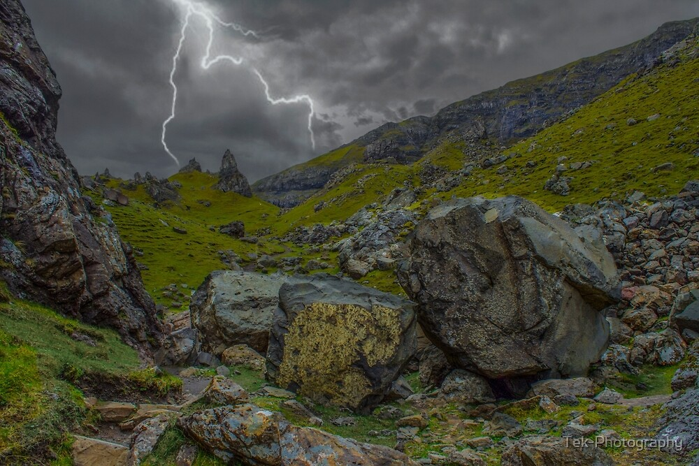 Storm In The Mountains by Tek-Photography