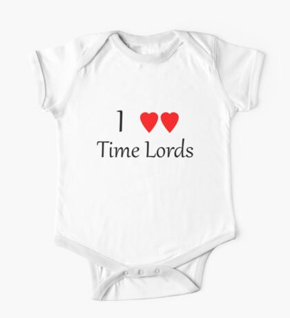 I ♥♥ Time Lords  Kids Clothes