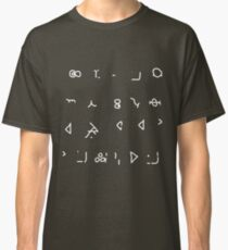 Hello Sweetie (Old High Gallifreyan) Classic T-Shirt