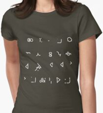 Hello Sweetie (Old High Gallifreyan) Women's Fitted T-Shirt