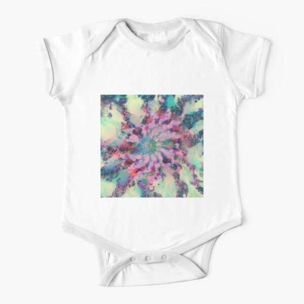 Fractalize Short Sleeve Baby One-Piece