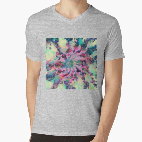 Fractalize V-Neck T-Shirt