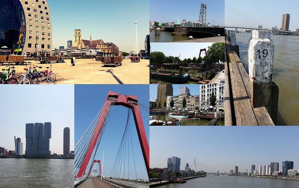 Photo collage Rotterdam 2 by kultjers