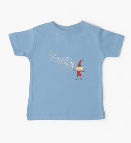 Magical Christmas Elf With White Swirls Kids Clothes