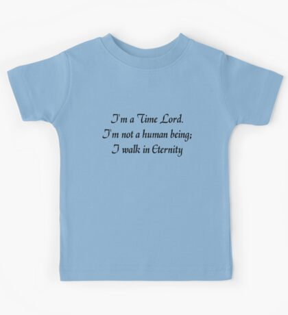 I Walk in Eternity Kids Clothes