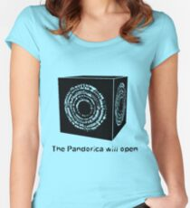 The Pandorica Will Open Women's Fitted Scoop T-Shirt