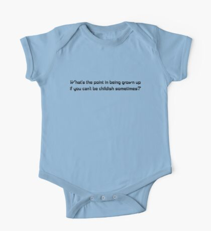 What's the Point in Being Grown Up? Kids Clothes