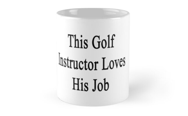 This Golf Instructor Loves His Job  by supernova23