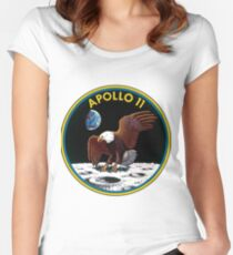 Apollo 11: The Eagle Has Landed Women's Fitted Scoop T-Shirt