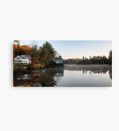 The Farm on Lake Road (Denmark,  Maine) Canvas Print