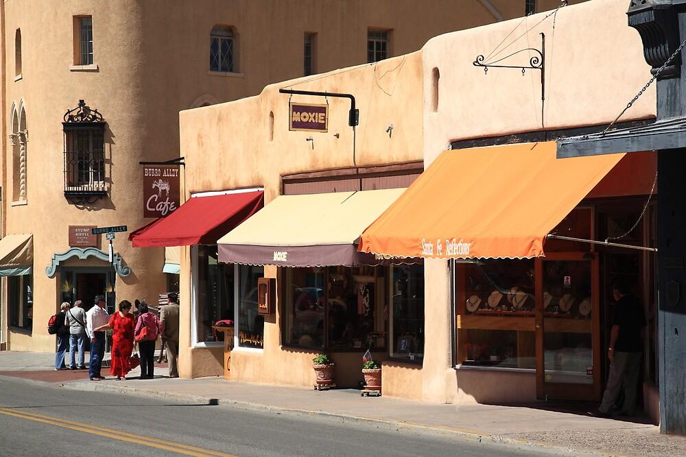 Santa Fe Shops by Frank Romeo