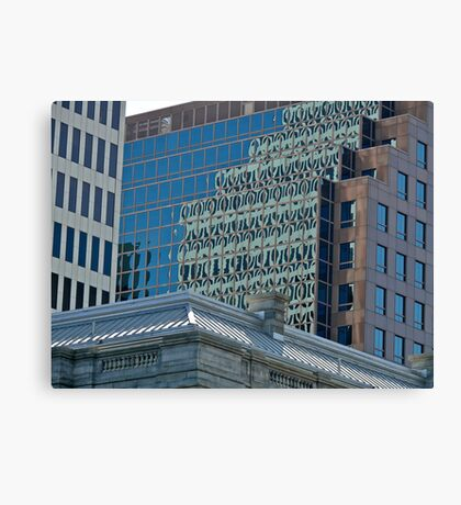 Citizens Bank Reflects a Rival - Providence - Rhode Island Canvas Print