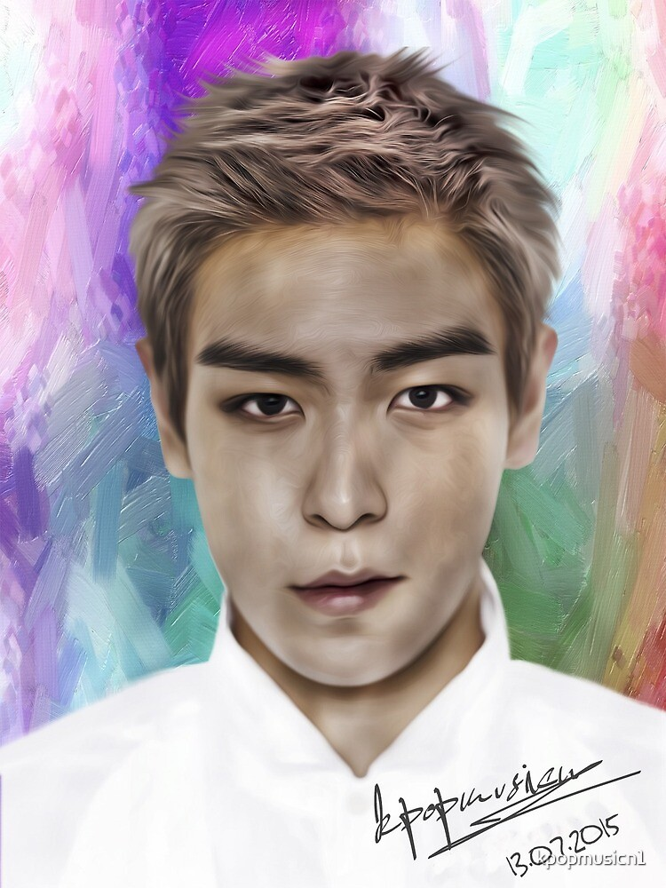 T.O.P from BigBang by kpopmusicn1