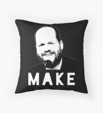 MAKE - Joss Whedon Throw Pillow