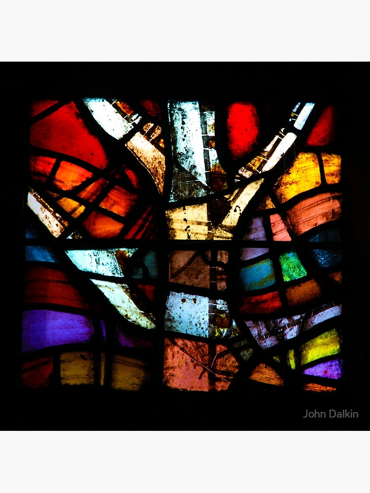Stained Glass in Coventry Cathedral by JohnDalkin