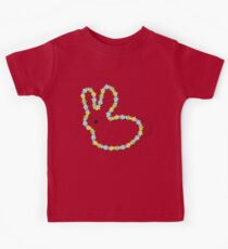 Blue Jigsaw Whimsical Baby Bunny Kids Clothes