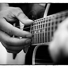 Guitare portrait by nguyen