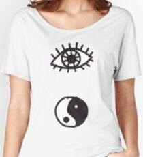 Ying Eye Yang Women's Relaxed Fit T-Shirt