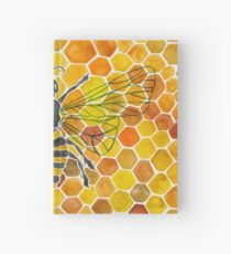 Honeybee Hardcover Journal