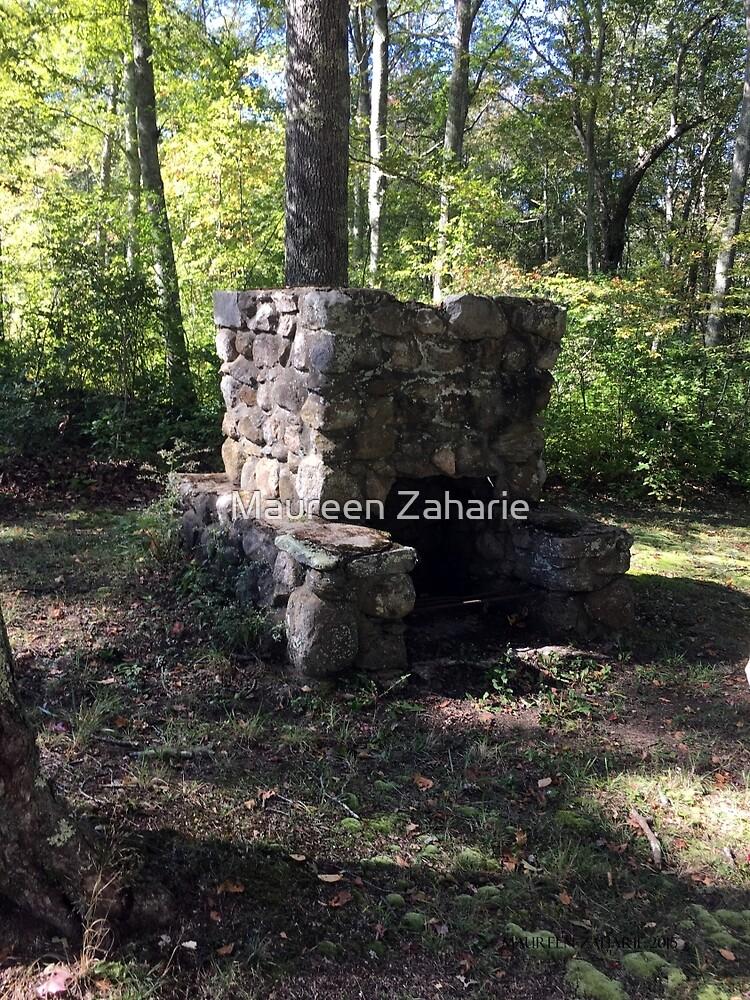 oLD StONE FIrePLACe, sTONINGtON  Pavilions a by Maureen Zaharie