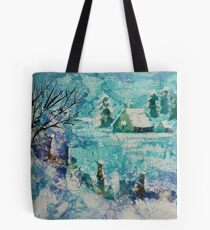 Snow scene 2 Tote Bag