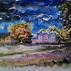 'Autumn, Farfield Hall, Addingham, Yorkshire' by Martin Williamson (©cobbybrook)