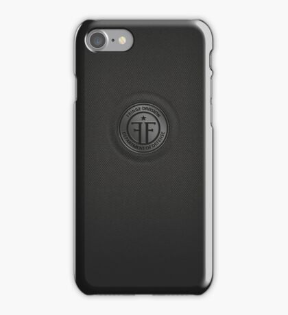 Fringe Division (dark) iPhone Case/Skin