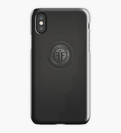 Fringe Division (dark) iPhone Case