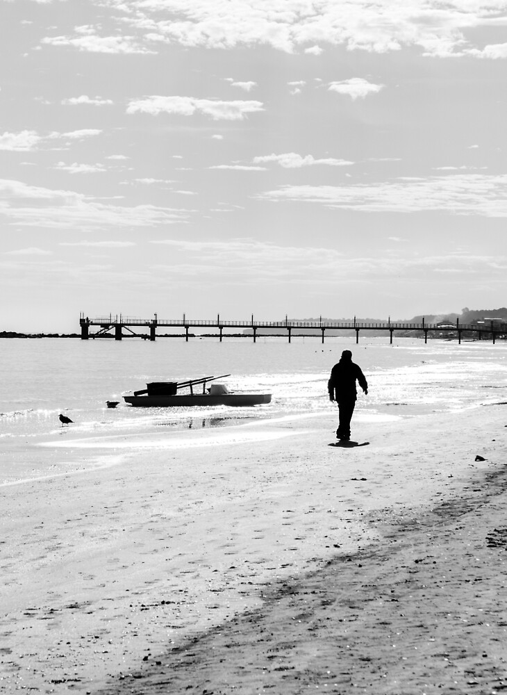 Walking into the Sea of Light by Andrea Mazzocchetti