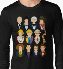 The Eleven Doctors  Long Sleeve T-Shirt