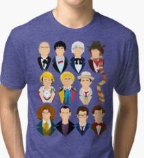 The Eleven Doctors  Tri-blend T-Shirt