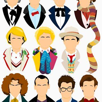 The Eleven Doctors  von TomTrager