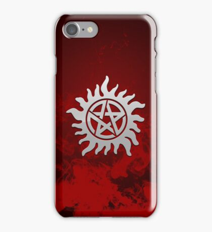 Protection seal iPhone Case/Skin